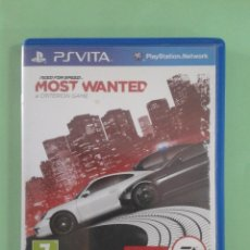 Videojuegos y Consolas PS Vita: NEED FOR SPEED MOST WANTED. Lote 94900343