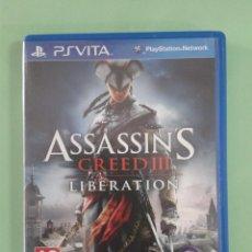 Videojuegos y Consolas PS Vita: ASSASSIN`S CREED III LIBERATION. Lote 94902631