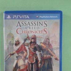 Videojuegos y Consolas PS Vita: ASSASSIN`S CREED CHRONICLES. Lote 94902675