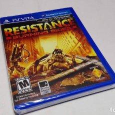 Videojuegos y Consolas PS Vita: RESISTANCE BURNING SKIES (VITA) VERSION USA ( PRECINTADO!). Lote 95051815