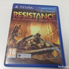 Videojuegos y Consolas PS Vita: RESISTANCE BURNING SKIES. Lote 95613359