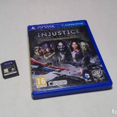 Videojuegos y Consolas PS Vita: INJUSTICE - GODS AMONG US - ULTIMATE ( SONY PS VITA -PAL- ESPAÑA) JC. Lote 96739383