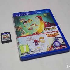 Videojuegos y Consolas PS Vita: RAYMAN LEGENDS + ORIGINS ( SONY PS VITA -PAL- ESPAÑA) JC. Lote 96739395