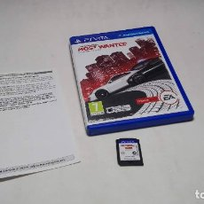 Videojuegos y Consolas PS Vita: NEED FOR SPEED MOST WANTED ( SONY PS VITA -PAL- ESPAÑA) JC. Lote 96739443