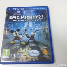 Videojuegos y Consolas PS Vita: EPIC MICKEY 2 THE POWER OF TWO. Lote 97471607