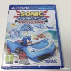 Videojuegos y Consolas PS Vita: SONIC ALL STARS RACING TRANSFORMED. Lote 97471843