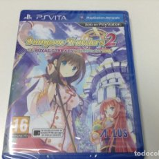 Videojuegos y Consolas PS Vita: DUNGEON TRAVELERS 2 THE ROYAL LIBRARY & THE MONSTER SEAL. Lote 97472047