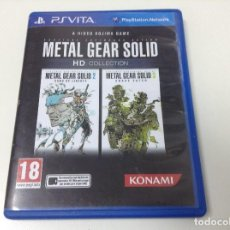 Videojuegos y Consolas PS Vita: METAL GEAR SOID HD COLLECTION. Lote 98212059