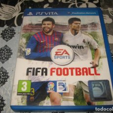 Videojuegos y Consolas PS Vita: FIFA FOOTBALL PS VITA PAL ESPAÑA PSVITA. Lote 98368883
