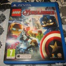 Videojuegos y Consolas PS Vita: MARVEL LEGO VENGADORES PS VITA PAL ESPAÑA PSVITA. Lote 98368975