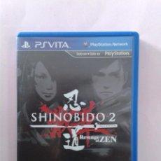 Videojuegos y Consolas PS Vita: SHINOBIDO 2. Lote 98704835