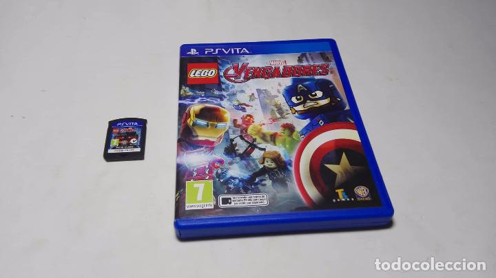 Lego Marvel Vengadores Sony Ps Vita Pal Esp Sold Through Direct Sale 98854691