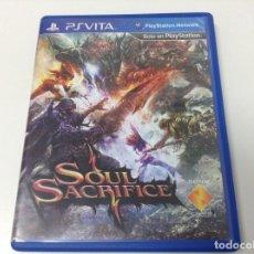 Videojuegos y Consolas PS Vita: SOUL SACRIFICE. Lote 252660495