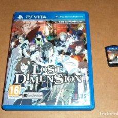 Videojuegos y Consolas PS Vita: LOST DIMENSION PARA SONY PSVITA / VITA , PAL. Lote 107376103