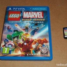Videojuegos y Consolas PS Vita: LEGO MARVEL SUPER HEROES : UNIVERSO EN PELIGRO PARA SONY PSVITA / VITA , PAL. Lote 107376167