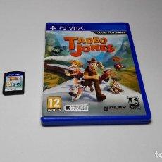 Videojuegos y Consolas PS Vita: TADEO JONES ( SONY PS VITA -PAL- ESPAÑA) E10. Lote 108839479