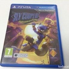 Videojuegos y Consolas PS Vita: SLY COOPER LADRONES EN EL TIEMPO. Lote 109122399