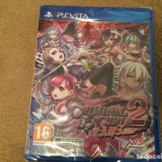 Videojuegos y Consolas PS Vita: CRIMINAL GIRLS 2 PARTY FAVORS PSVITA PS VITA SONY KREATEN. Lote 109410647