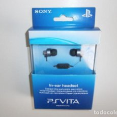 Videojuegos y Consolas PS Vita: PLAYSTATION VITA IN-EAR HEADSET . Lote 109821339