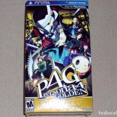 Videojuegos y Consolas PS Vita: PERSONA 4 GOLDEN —SOLID GOLD PREMIUM EDITION—, PRECINTADO VER USA -PSV-. Lote 112627531