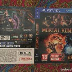 Videojuegos y Consolas PS Vita: SOLO PORTADA PSVITA PS VITA KREATEN MORTAL KOMBAT. Lote 116727207