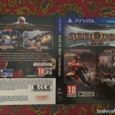 Videojuegos y Consolas PS Vita: SOLO PORTADA PSVITA PS VITA KREATEN GOD OF WAR COLLECTION I Y II 1 2. Lote 116727335
