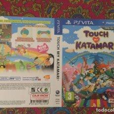 Videojuegos y Consolas PS Vita: SOLO PORTADA PSVITA PS VITA KREATEN TOUCH MY KATAMARY KATAMARI. Lote 116727491