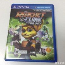 Videojuegos y Consolas PS Vita: THE RATCHET & CLANK TRILOGY. Lote 116792391