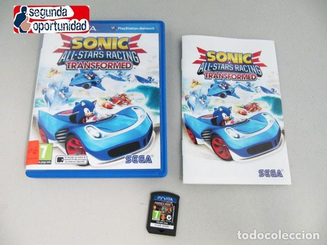 SONIC - ALL STARS RACING - TRANSFORMED - PS VITA (Juguetes - Videojuegos y Consolas - Sony - PS Vita)