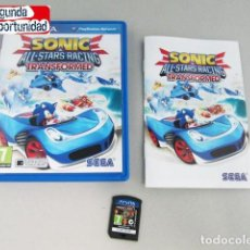 Videojuegos y Consolas PS Vita: SONIC - ALL STARS RACING - TRANSFORMED - PS VITA. Lote 117686735