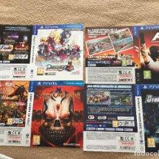 Videojuegos y Consolas PS Vita: REPRODUCCIONES PORTADAS SONY PS VITA PSVITA VARIAS MUCHAS KREATEN. Lote 118448931