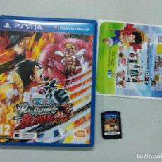 Videojuegos y Consolas PS Vita: ONE PIECE BURNING BLOOD - PSVITA PS VITA PLAYSTATION VITA - PAL ESP. Lote 122591239