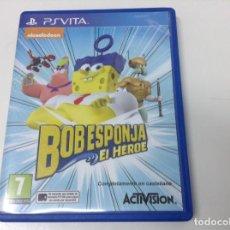Videojuegos y Consolas PS Vita: BOB ESPONJA EL HEROE. Lote 122726879