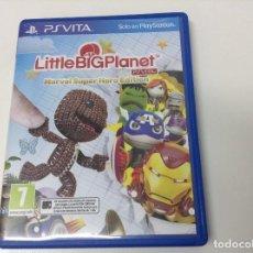 Videojuegos y Consolas PS Vita: LITTLE BIG PLANET MARVEL SUPER HERO EDITION. Lote 122727259