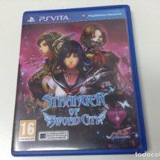 Videojuegos y Consolas PS Vita: STRANGER OF SWORD CITY. Lote 122910455