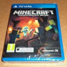 Videojuegos y Consolas PS Vita: MINECRAFT , A ESTRENAR PARA SONY PSVITA / VITA , PAL. Lote 122925647