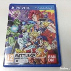 Videojuegos y Consolas PS Vita: DRAGON BALL Z BATTLE OF Z. Lote 124576343