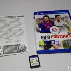 Videojuegos y Consolas PS Vita: FIFA FOOTBALL ( SONY PS VITA -PAL- ESPAÑA) JC . Lote 124931691