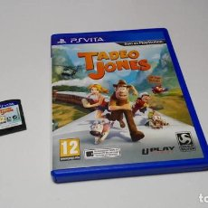 Videojuegos y Consolas PS Vita: TADEO JONES ( SONY PS VITA -PAL- ESPAÑA) JC . Lote 124931739