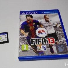 Videojuegos y Consolas PS Vita: FIFA 13 ( SONY PS VITA -PAL- ESPAÑA) JC . Lote 124932007