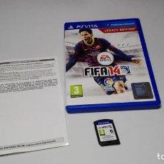 Videojuegos y Consolas PS Vita: FIFA 14 ( SONY PS VITA -PAL- ESPAÑA) JC . Lote 124932083