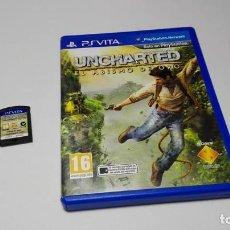 Videojuegos y Consolas PS Vita: UNCHARTED : EL ABISMO DE ORO ( SONY PS VITA -PAL- ESPAÑA) JC . Lote 124932135