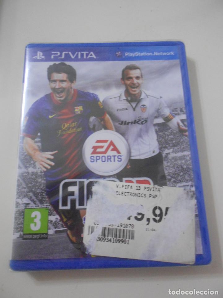 PSVITA PS VITA FIFA 13 PRECINTADO CASTELLANO (Juguetes - Videojuegos y Consolas - Sony - PS Vita)