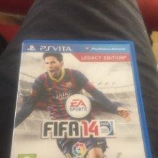 Videojuegos y Consolas PS Vita: JUEGO FIFA 14 PSVITA. Lote 127956251