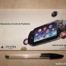 Videojuegos y Consolas PS Vita: GUIA ORIGINAL - PS VITA - PLAYSTATION - ARCHIVO - PCH-1004. Lote 130078239