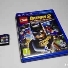 Jeux Vidéo et Consoles: LEGO BATMAN 2 - DC SUPER HEROES ( SONY PS VITA -PAL- FRANCE). Lote 131191892
