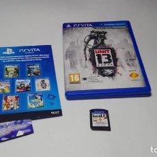Videojuegos y Consolas PS Vita: UNIT 13 ( SONY PS VITA -PAL- ESPAÑA). Lote 142786374