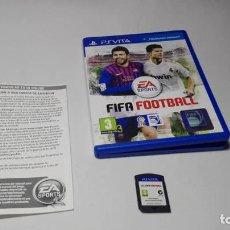 Videojuegos y Consolas PS Vita: FIFA FOOTBALL ( SONY PS VITA -PAL- ESPAÑA). Lote 142786338