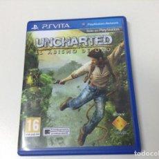 Videojuegos y Consolas PS Vita: UNCHARTED EL ABISMO DE ORO . Lote 133091218