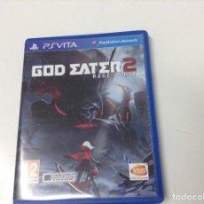 Videojuegos y Consolas PS Vita: GOD EATER 2 RAGE BURST. Lote 133160790
